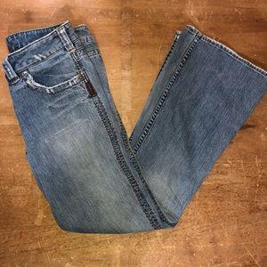 SILVER JEANS MONROE boot cut 31/33